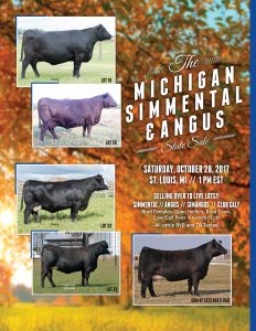 2017 Michigan State Sale
