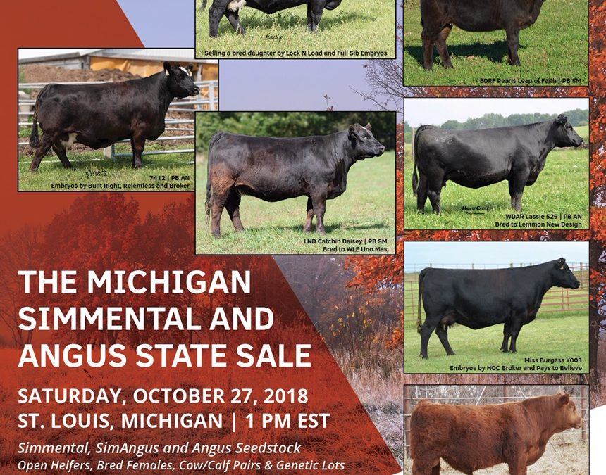 2018 Fall Simmental and Angus Sale